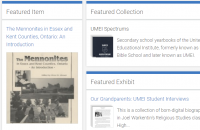 Screenshot of EKMHA's online repository at ekmha.ca/collections
