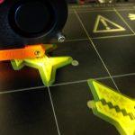 3d printed shark clip